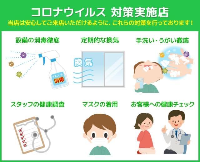 コロナウイルス対策実施店画像
